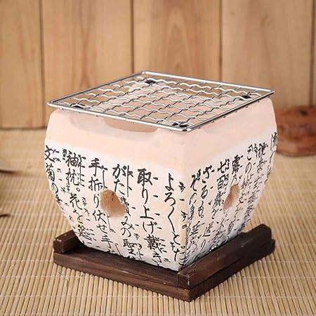 Japanese Korean Style Ceramic BBQ Grill Hibachi Charcoal Barbecue Stove  !!
