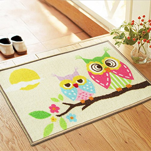 New Arrival Home Doormat 40X60cm Nylon Bath Mat For Living Room Kitchen Bathroom Carpet Cartoon Mats Rugs Tapetes Wholesale