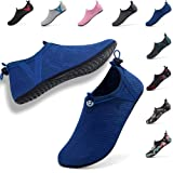 VIFUUR Womens Mens Water Sport Shoes Adjustable