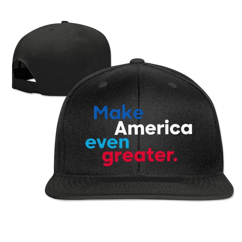 Kaho Adult Hip Hop Cap Adjustable Baseball Cap Make America Even Greater