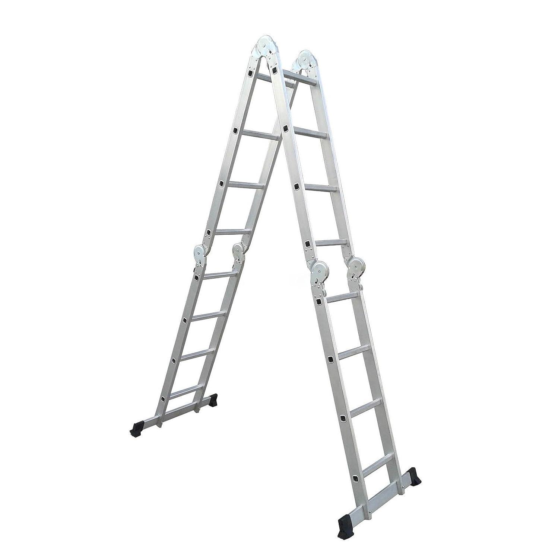 /Échelle multifonction Pliable en aluminium 4,75M