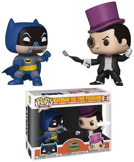Amazon Com Funko Pop Heroes Batman Classic Tv Series Batman Vs