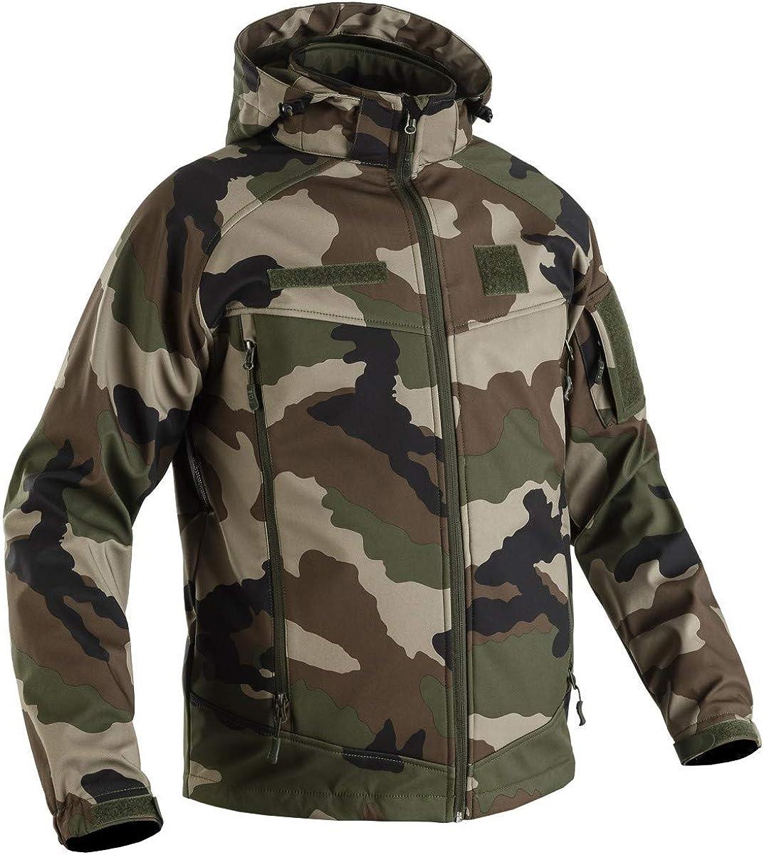 T.O.E Softshell Storm Field 2.0 Camouflage