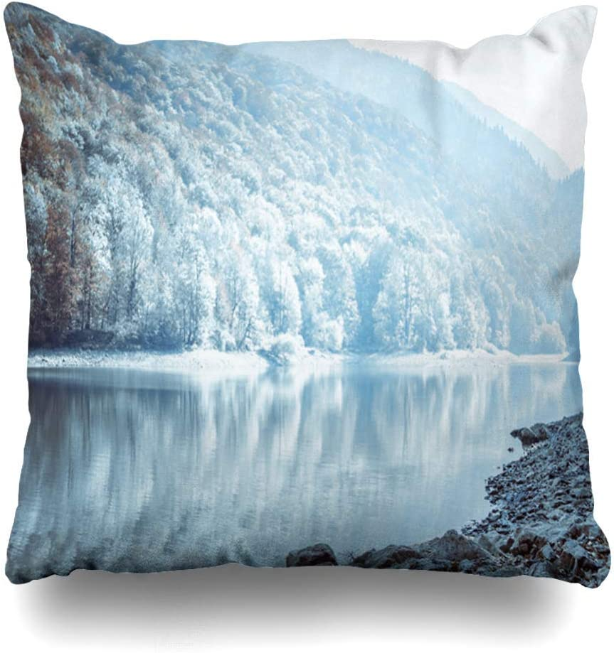 Green Haoke Throw Pillow Cover Vacation
