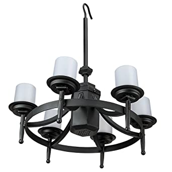 Chatham Gazebo LED Outdoor Chandelier W/ Remote Control