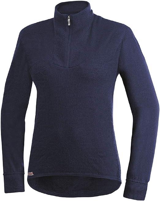 Woolpower 200 Crewneck Dark Navy 2019 sous-vêtements bleu
