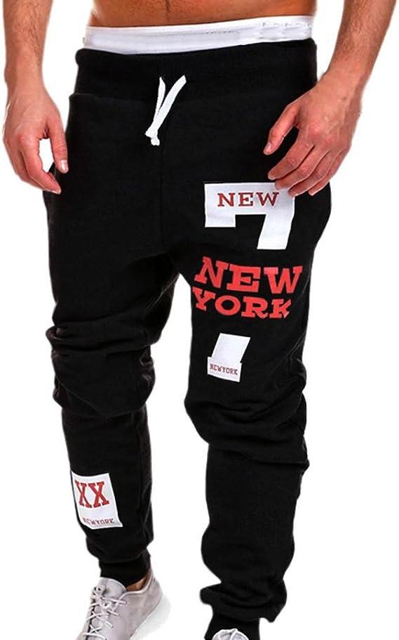Chándal de Hombres Moda Pantalones de chándal de Hombre Pantalones ...