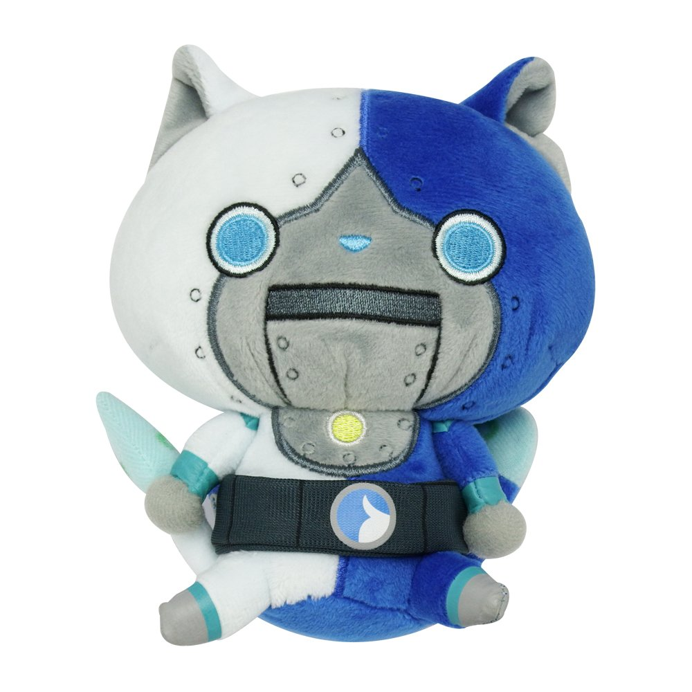 Amazon.com: DX Kuttari Stuffed Animal Robonyan Type F by Bandai: Toys & Games