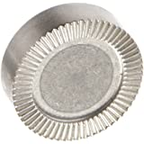 J.W Sintered Stainless Steel 32 mm OD with 48 Teeth with 6.2 mm ID Bore in The Center and Two 5.3 mm Counterbored Holes for Socket Cap Screws GN187.4-NI European Standard No.10.4404 American Standard Seri Winco 187.4-32-48-B-NI Serrated Locking Plate