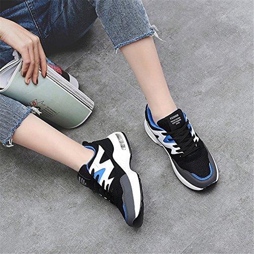 Da Per All'aperto Corsa Sport Casual Comfort Rose Tulle Donna B Scarpe Primavera Cuscino D'aria Blue Black Sneakers Traspirante Autunno Violet pRwdOqS