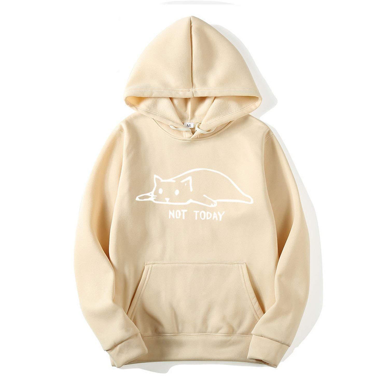 Kawaii Cat Hoodies Men Sweatshirt Men//Women Harajuku Fashion Sweat Unisex Long Sleeve Hoodies