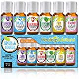 essential oil for colds - Healing Solutions Sinus Relief Therapeutic Grade Essential Oil, 10 ml (6-Pack)