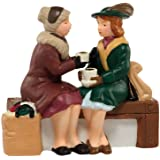 Department 56 Christmas in the City Village Holiday Coffee Break Accessory, 2.125 inch