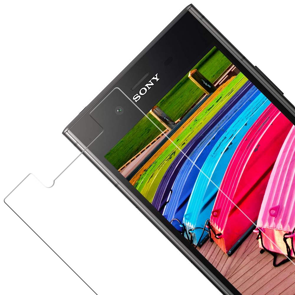 Vkaiy Protector de Pantalla para Sony Xperia XZ1, Cristal Templado para Sony Xperia XZ1, 9H Dureza, Anti Dactilares, Alta Definición, 2.5d Borde ...