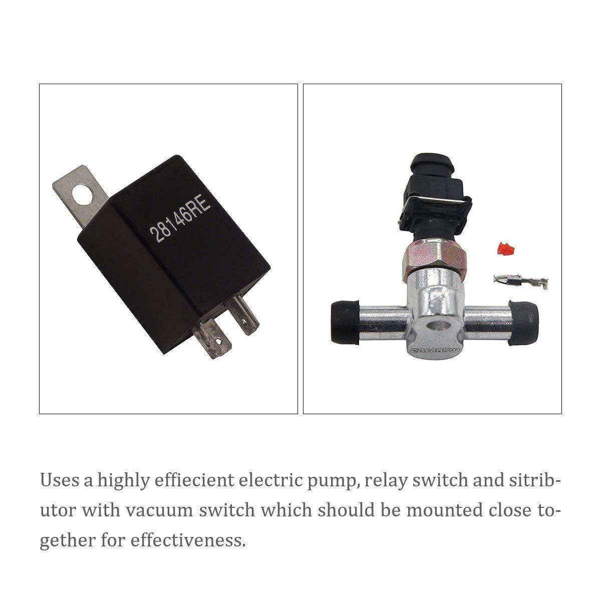 Dracarys 28146 Electric Vacuum Pump Kit For Brake Booster Vacuum Pump Electric Vacuum Pump For Brakes