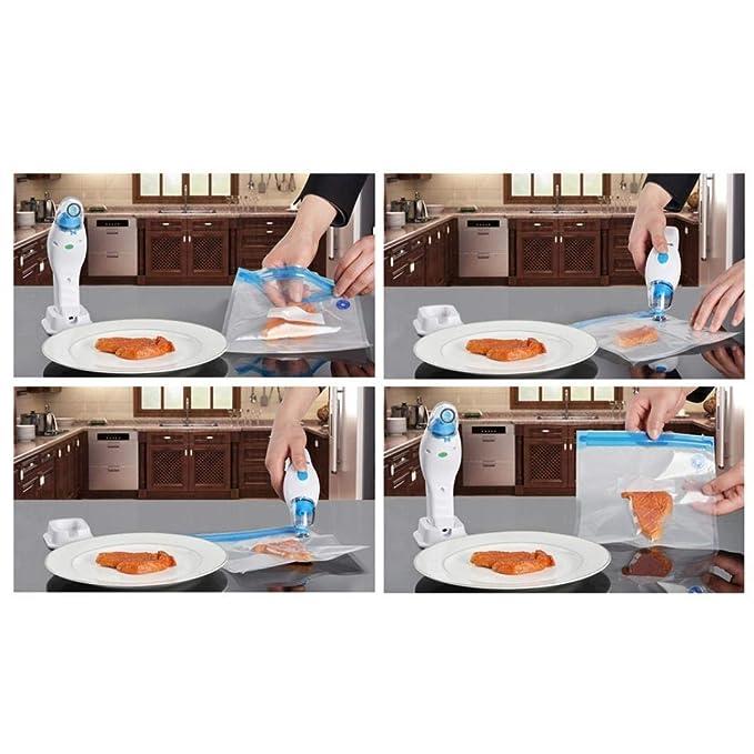HYRL Sellador de vacío, portátil de Mano del hogar de Alimentos ...