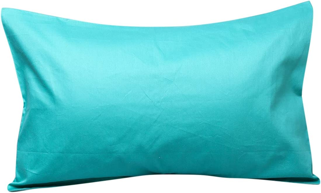 UOMNY Toddler Pillowcases 100/% Natural Cotton Travel Pillowcase Cover with Envelope Closure 2 Pcs 14x20 Fits Pillows Sized 12x16 13x18 or 14x19 Machine Washable Kids Pillow Cases Orange