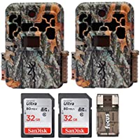 Browning Spec Ops FHD Extreme Trail Game Camera with Color Viewer (20MP) + 32 Gb Card & Focus USB Reader