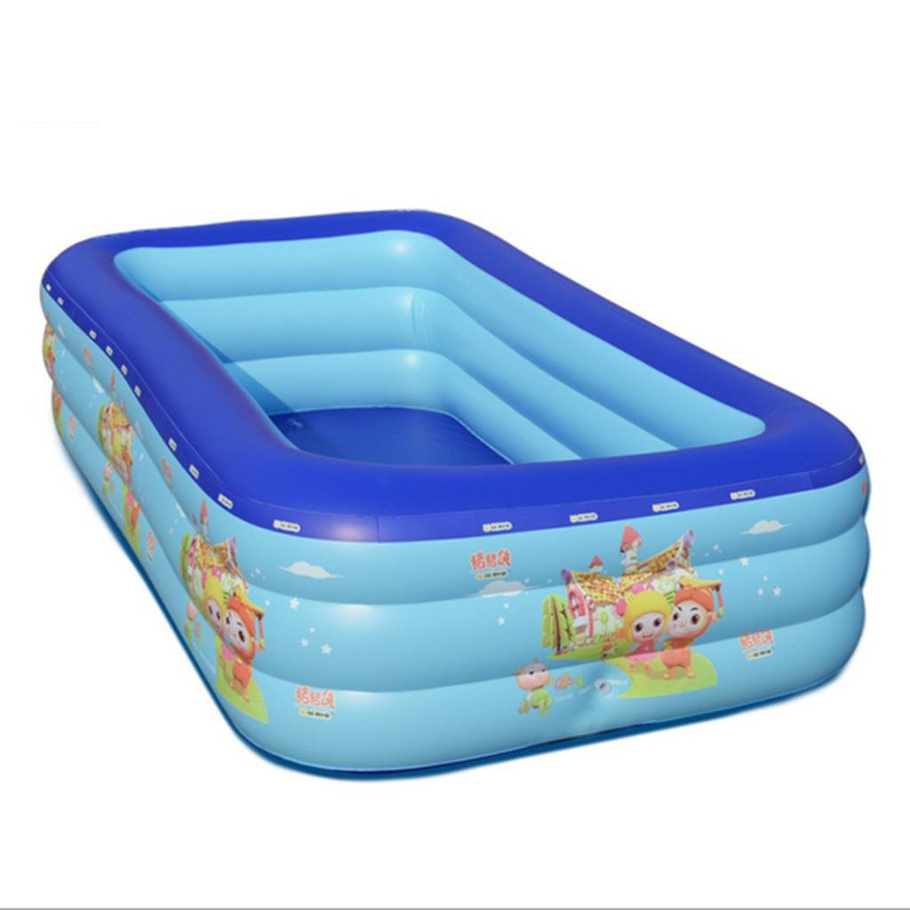 DZW Baby - Piscina hinchable infantil bebé Familia Agua Ball ...