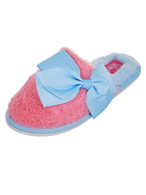 e636159045d1 Jojo Siwa Big Girls Slippers - Pink Blue