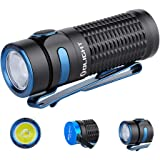 OLIGHT Baton 3 1200 Lumens Ultra-Compact Rechargeable EDC Flashlight, Powered by 550mAh 3.7V IMR16340 Battery for Household S