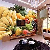 300cmX250cm Custom 3D Photo Wallpaper Fruits Vegetables Decor Painting Kitchen Living Room Bedroom Wall Mural Wallpaper 3D,C