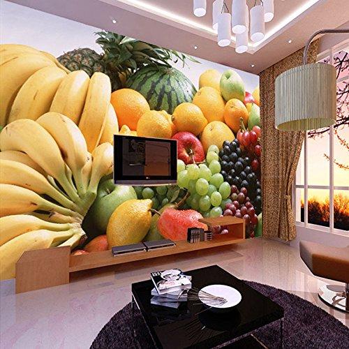 300cmX250cm Custom 3D Photo Wallpaper Fruits Vegetables Decor Painting Kitchen Living Room Bedroom Wall Mural Wallpaper 3D,C,1 square meter