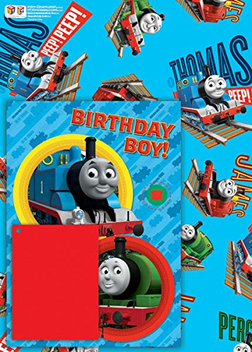 Thomas & Friends Thomas The Tank Engine Card, Gift Paper And Tag Set ()