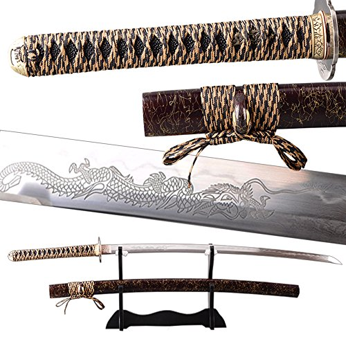 1095 carbon steel sword - 7