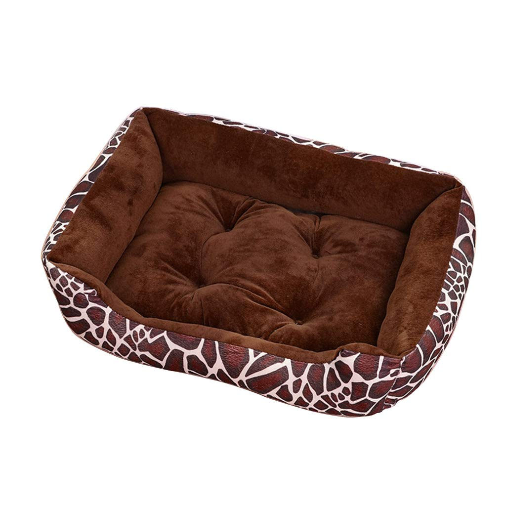 QUD Kennel, removable and washable four seasons universal pet mat large medium small dog winter warm pad kennel