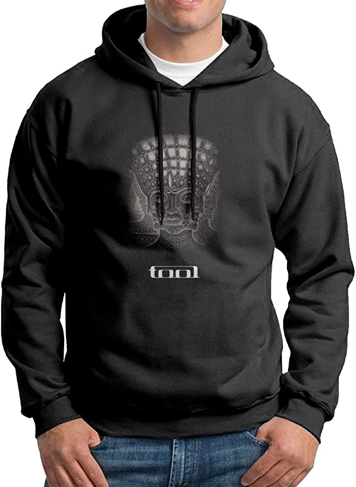EmmieLarry Mens Tool Band 10000 Days10000 Days Poster Pullover Hoodie