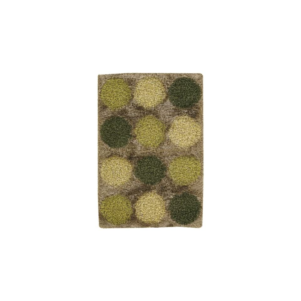 Rocco Collection Hand woven Contemporary Shag Rug (79 x 106) by Chandra Rugs