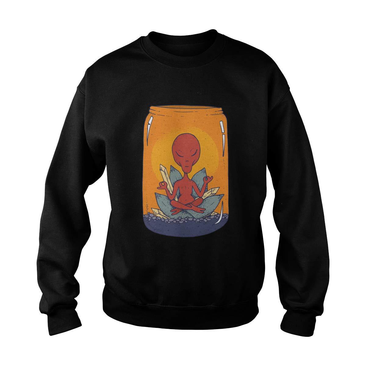 Zinko Meditating Alien Sweatshirt