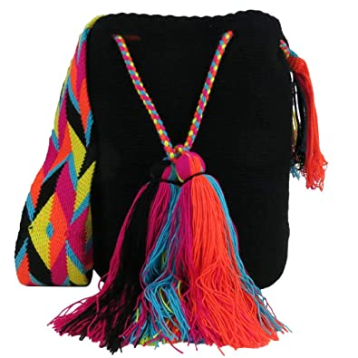 Amazon.com: Across The Puddle, Wayuu Bags and Hats Collection, The Rio Grande Mochila Bag: Shoes
