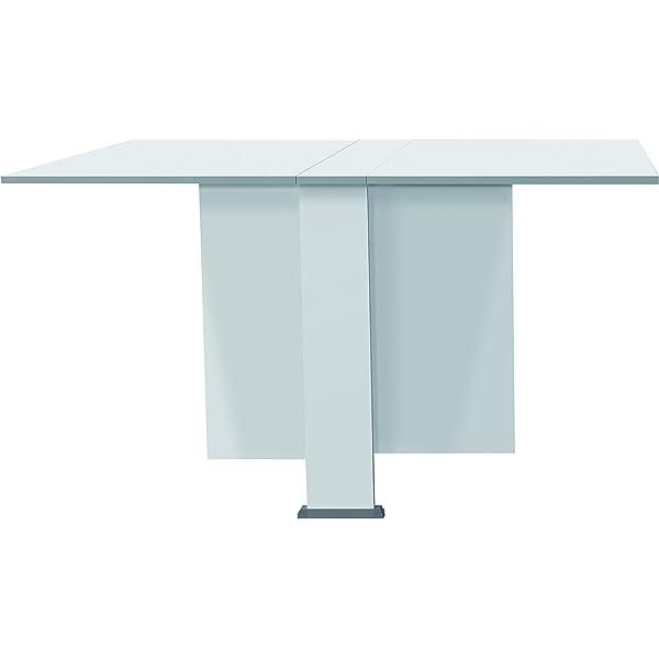 Suarez Swing Mesa de Cocina, melamina, Gris/Blanco, 342 x 800 x ...