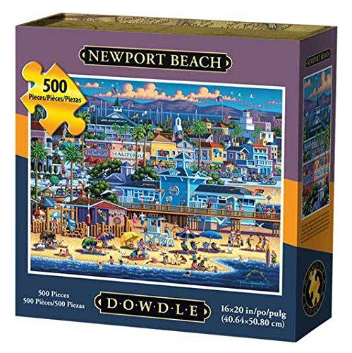 Dowdle Folk Art Newport Beach Jigsaw Puzzle
