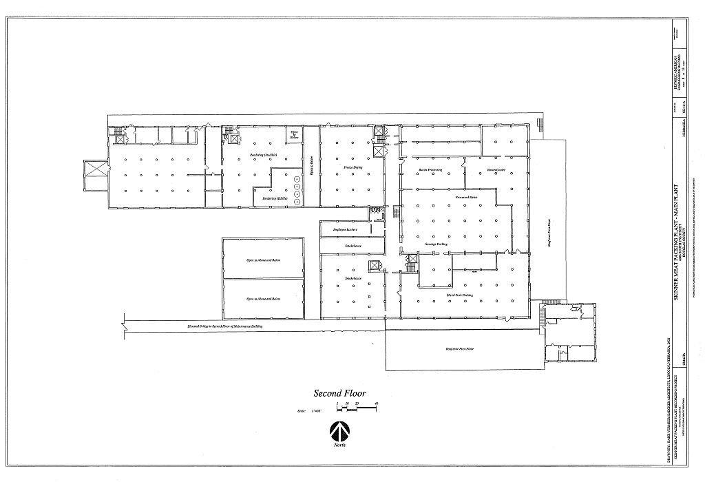 Amazon Com Historic Pictoric Blueprint Diagram Haer Ne 12 A