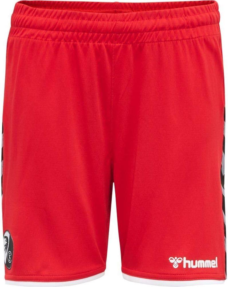 hummel Fu/ßball Kinder SC Freiburg SCF Authentic Poly Shorts 2019//20 Trainingshose kurz rot