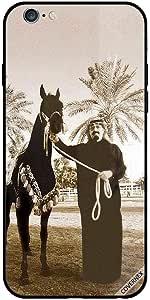 حافظة آيفون 6 بصورة قديمة مشهورة للملك سعود