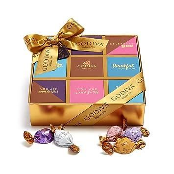 Amazon Com Godiva Chocolatier Modern Gourmet Thank You Gift Box