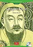 Genghis Khan: the Mighty Conqueror (Book & Audio CD): World History Readers 4-8