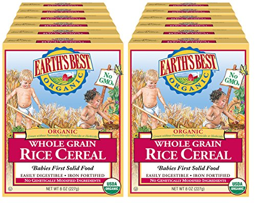 Jual Earth S Best Organic Infant Cereal Whole Grain Rice 8 Oz Box