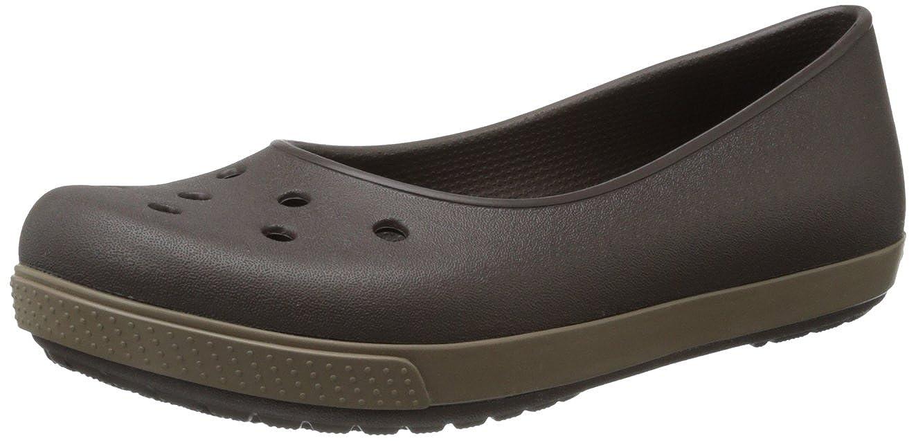 3fcea74e8b631c crocs Women s Crocband Airy Flat