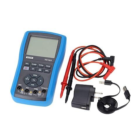 JIANGJIE Multimetro Digitale Clamp Meter AC//DC Tensione Corrente Misurazione della Temperatura