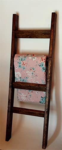 Wooden Quilt Ladder Decorative Rack 5 Foot Wood