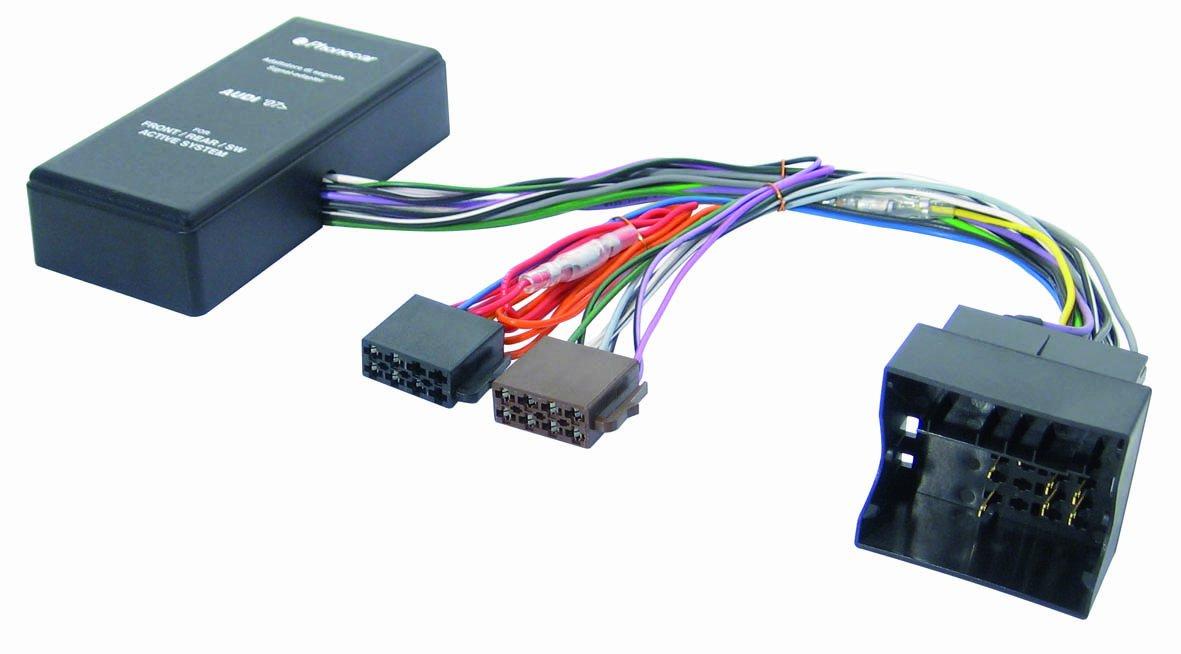 Phonocar 4/134 - Interfaces para sistemas Hi-Fi Audi, varios colores 04134