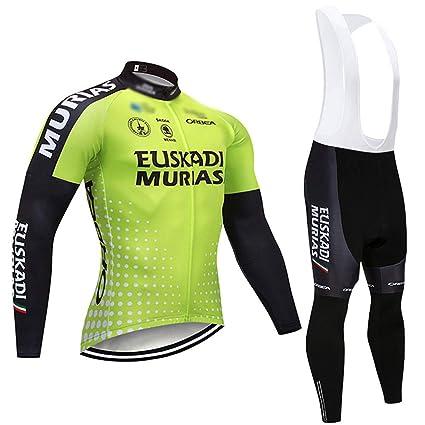 Wulibike Conjunto Ciclismo Hombre Maillot Traje Btt Térmico ...