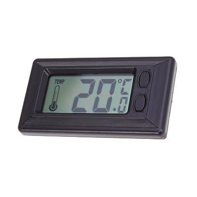 WINOMO Car Digital Thermometer Indoor LCD Temperature Gauge for Sedan SUV Truck Rv: Automotive