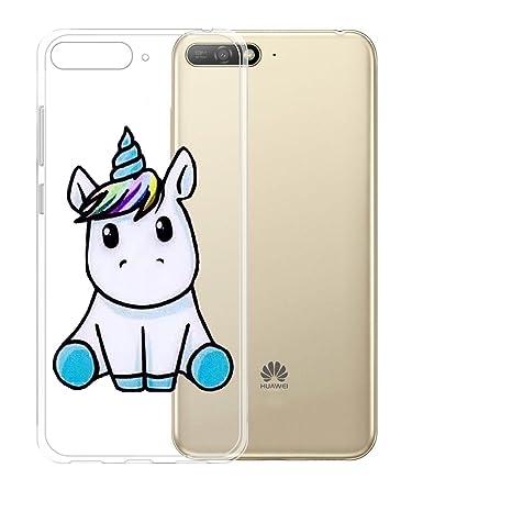 custodia huawei y6 2018 unicorno