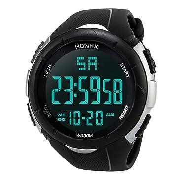 Logobeing Digital Reloj Deportivo, Hombres de Lujo Analógico Digital Militar Ejército Deporte Led Reloj de